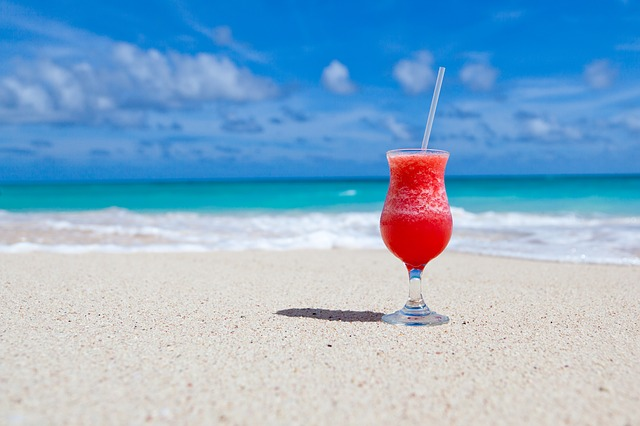 illustration of beach photo